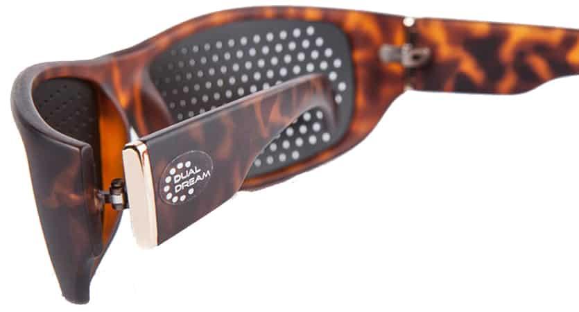 Occhiali stenopeici Fasciante Turtle Dual Dream © Dispositivo medico occhiali forati di ginnastica oculare - vista 02