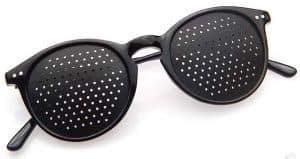 Dual Dream ® Occhiali stenopeici per ginnastica oculare