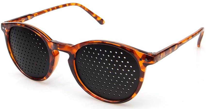Occhiali stenopeici Lettura Turtle Dual Dream ® Dispositivo medico di rieducazione visiva