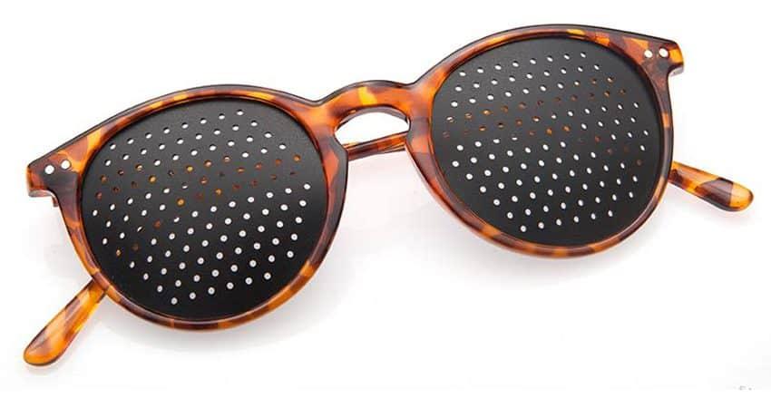 Occhiali stenopeici Lettura Turtle Dual Dream ® Dispositivo medico di rieducazione vista fronte