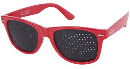 Occhiali stenopeici Classic Red Dual Dream ®