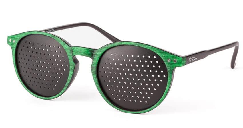 Occhiali stenopeici Lettura Green Dual Dream
