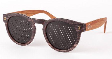 DUAL DREAM ® Occhiali stenopeici Trend Zebrano scuro
