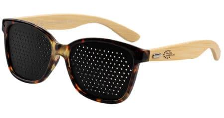 Occhiali stenopeici Classic Turtle Deluxe Legno Dual Dream ®