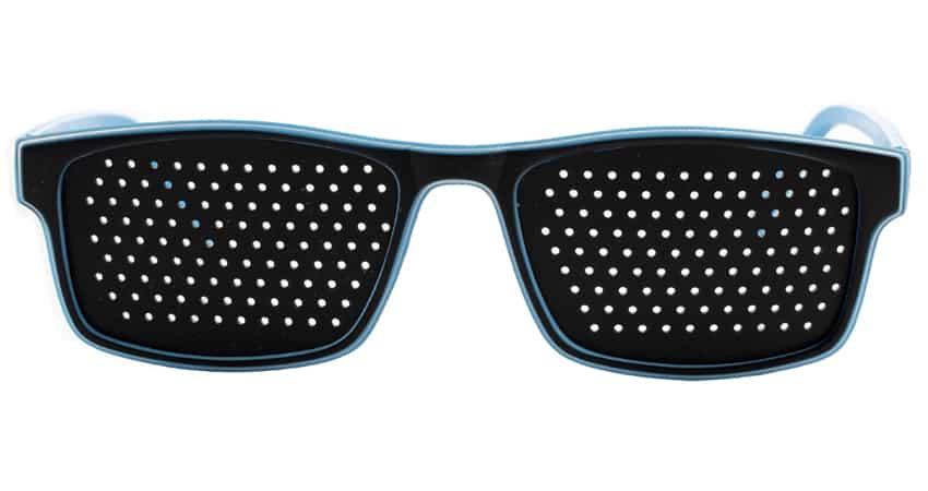 Occhiali stenopeici Flex Oltremare Dual Dream-fronte